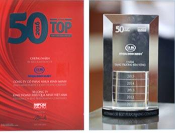 TOP 50 CÔNG TY HOẠT ĐỘNG HIỆU QUẢ NHẤT VIỆT NAM 1
